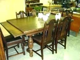 Pull Out Dining Room Table With Leaves That