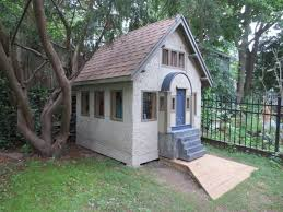 how to build a garden shed that u0027s a 1 4 scale miniature of your