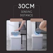 15l automatische sensor smart papierkorb induktion mülleimer wohnzimmer bad müll mülleimer küche mülleimer müll bins