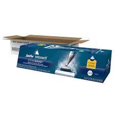 Swiffer Steam Mop On Hardwood Floors by Amazon Com Swiffer Steamboost Deep Cleaning Steam Mop Starter Kit