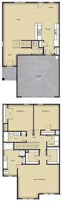 3 br 2 5 ba 2 story floor plan house design for sale charlotte