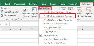 Doc Print Multiple Selection Wizard 1