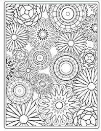 Picture Collection Website Adult Flower Coloring Pages