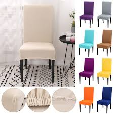 Details About Newest Stretch Dining Chair Covers Slipcovers Removable Chair  Protective Covers Plastic Ding Chair Covers Amazing Room Seat Hanover Traditions 5piece Alinum Round Outdoor Set With Protective Cover And Natural Oat Cushions Amazoncom Yisun Modern Stretch 10 Best Of 2019 For Elegance Aw2k Spandex Polyester Slipcover Case Anti Dirty Elastic Home Decoration Cheap New Decorative Coversbuy 6 Free Shipping Protectors Ilikedesignstudiocom Chairs 4pcs 38 Fresh Stocks Leather Concept In Fabric Slip Covers For Hotel Banquet Ceremony Hongbo 1pcs Minimalist Plant Leaves