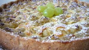dessert aux raisins frais tarte au raisin frais recette par rêves de pâtissière