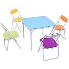 amazon com safety 1st 5 piece kid table and chair set arts