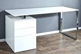 bureau blanc laqué bureau direction blanc laqu brillant design groenland achatvente