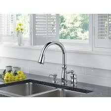 Delta Trinsic Faucet With Soap Dispenser by Pull Out Kitchen Faucet Get A Pull Down Style Kitchen Sink