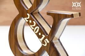 WWMM Wood Ampersand Detail
