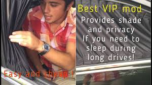 Junction Produce Car Curtains by How To Install Vip Window Curtains On Your Car 1 Vip Mod Vip