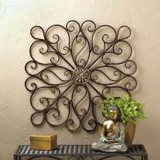 Copper Rustic Iron Wall Decor