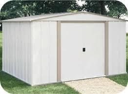 arrow galvanized steel storage shed 10x8 salem 10x8 arrow metal storage shed kit sa108