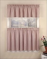 kitchen black and white striped curtains walmart 45 inch