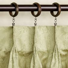 Decorative Traverse Rod With Clips by Clip Curtain Rings Home Design Ideas And Pictures