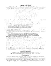 Medical Administrator Resume