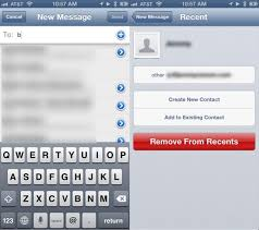 Delete Recent Recipients From Mail Your iPhone iPad [iOS Tips
