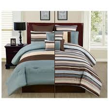 Brown And Blue Bedding by Cool Spreads Cute Comforters