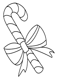 Free Candy Cane Coloring Pages To Print