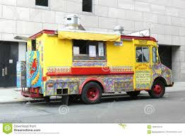 Indian Food Truck Editorial Stock Image. Image Of Manhattan - 100875219