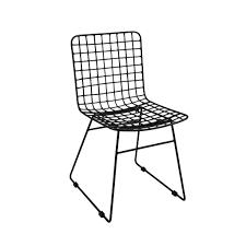 animal design metallstuhl loft esszimmerstuhl retro küchenstuhl bistro farbe schwarz