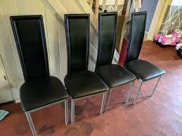 stühle esszimmer stuhl kunstleder