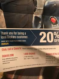20% Dickies Code BWO29 : Frugalmalefashion The Ems Store Coupon Code Godfathers Pizza Omaha Ne 68106 20 Off Dickies Canada Coupons Promo Codes October 2019 Dickies Pants Best Tv Deals Under 1000 By Gary Boben Issuu Valpak Printable Online Local Deals What Does Planet Fitness Black Card Offer Akc Elvis Duran Proflowers Free Coupons Through Medway Boot Fd23310 Brown Mens Shoes Work Utility Dealhack Sales Csgorollcom Promotion Coupon Book For Daddy Or Mills Fleet Farm Discount Bridal