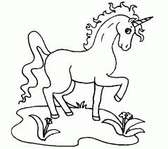Excellent Unicorn Coloring Pictures Colorings Design Ideas