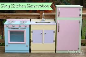Play Kitchen Renovation By Night Owl Corner