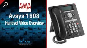 Avaya 1608 Handset Video Overview [Infiniti Telecommunications ... Installation And Cfiguration Of Avaya 19600 Series Ip 8button Phone Office The Sip Guide Telephonesystems Procom Business Systems Chester County Surrounding Htek Uc803t 2line Enterprise Voip Desk Audiocodes 430hd Warehouse 9611g Pn 700480593 At The System Thats Same Price As A Traditional Telephone Small Review Optimal Telco Depot Gastonia Nc Call 70497210
