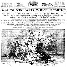 Pictures Of The Uss Maine Sinking by April 24 The Spanish American War Jewish Currents
