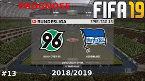 FIFA PROGNOSE ▻Bundesliga 13 Spieltag HANNOVER 96 HERTHA BSC