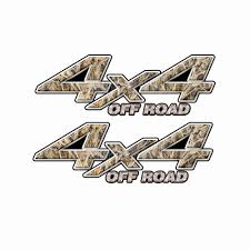 100 Duck Decals For Trucks 4X4 OFF ROAD Tall Grass Hunter Camo Bedside Truck 2 Pack