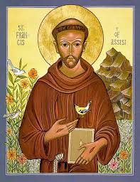 st francis of assisi icon reproduction