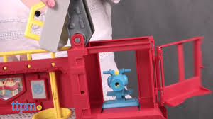 TRANSFORMERS RESCUE BOTS NEW GRIFFIN ROCK FIRE STATION OPTIMUS ...