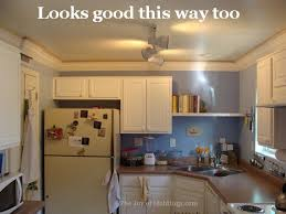 Kitchen Cabinet Filler Strips by Kitchen Crown Molding Installation The Last Piece Goes In The