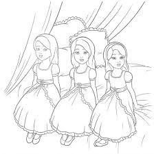Free Printable Barbie Doll Coloring Pages Colouring Sheets Elegant Large Images House