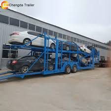100 Truck Semi For Sale 2 Axles Carrier Car Transport Trailer Philippines