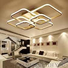 100w led moderne deckenleuchte wohnzimmer le ø70cm weiße aluminium rechteck 6 flammig schön design deckenle acryl lenschirm kunst kreative
