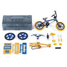Tech Deck BMX Bike Shop With Accessories And Storage Container Sunday Bikes Blue