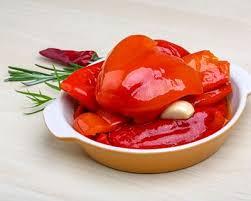 cuisiner les poivrons rouges recette poivrons rouges marinés à l huile d olive