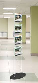 Totem Display Stands A Portable Solution For Displaying Your Posters Brochures And Banners