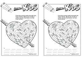 Fruit Of The Spirit Kindness Coloring Pages Bible Page Kjv Full Size