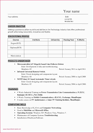 Resume Sample For Engineering Student Freshers Samples Diploma Mechanical Engineer New A
