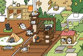 Wood Deck Neko Atsume