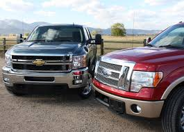 Ford F-150 Ecoboost Vs Chevy Silverado Duramax Pick-up Mashup Review ...