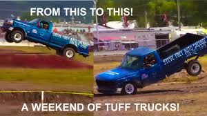 Tuff Truck Fails: A Clean Full Sized Ford 4x4 Pickup Is DESTROYED ...