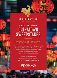 P.F. Chang's Celebrating Chinese New Year By Giving Away ...