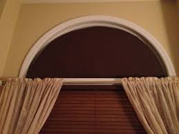 Graber Arched Curtain Rods by Home Made Arch Window Covering To Stop The Sun From Coming Into