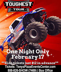 Toughest Monster Truck Tour' To Return To Salina - The Salina Post Monster Trucks Coming To Champaign Chambanamscom Charlotte Jam Clture Powerful Ride Grave Digger Returns Toledo For The Is Returning Staples Center In Los Angeles August Traxxas Rumble Into Rabobank Arena On Winter 2018 Monster Jam At Moda Portland Or Sat Feb 24 1 Pm Aug 4 6 Music Food And Monster Trucks Add A Spark Truck Insanity Tour 16th Davis County Fair Truck Action Extreme Sports Event Shepton Mallett Smashes Singapore National Stadium 19th Phoenix