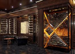 100 Wine Room Lighting STACT Custom Cellars STACT Racks